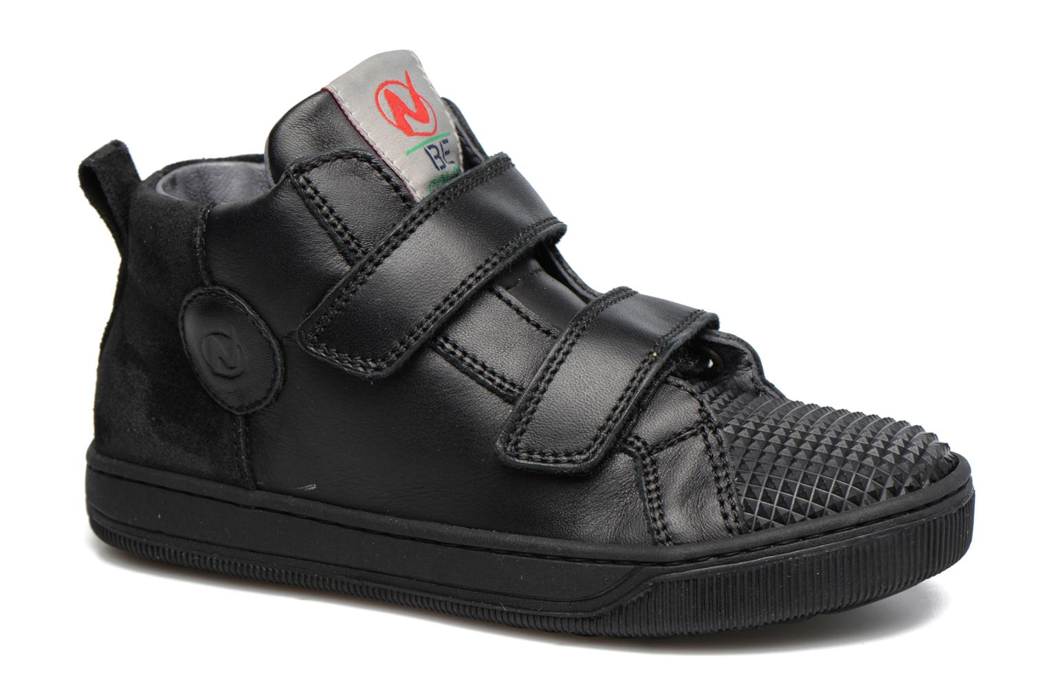 Trainers Naturino Play VL Black detailed view/ Pair view