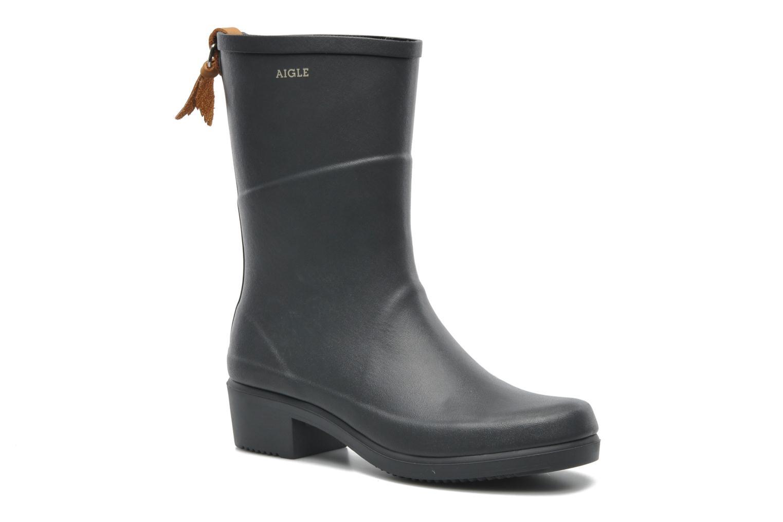 Bottines et boots Aigle Miss Julie Gris vue 3/4