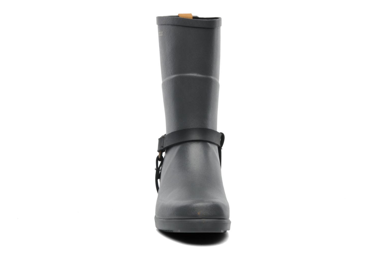 Bottines et boots Aigle Miss Julie Gris vue portées chaussures