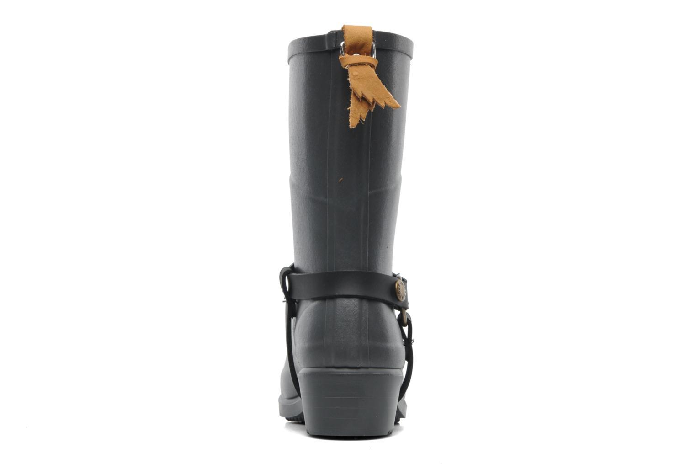 Bottines et boots Aigle Miss Julie Gris vue droite