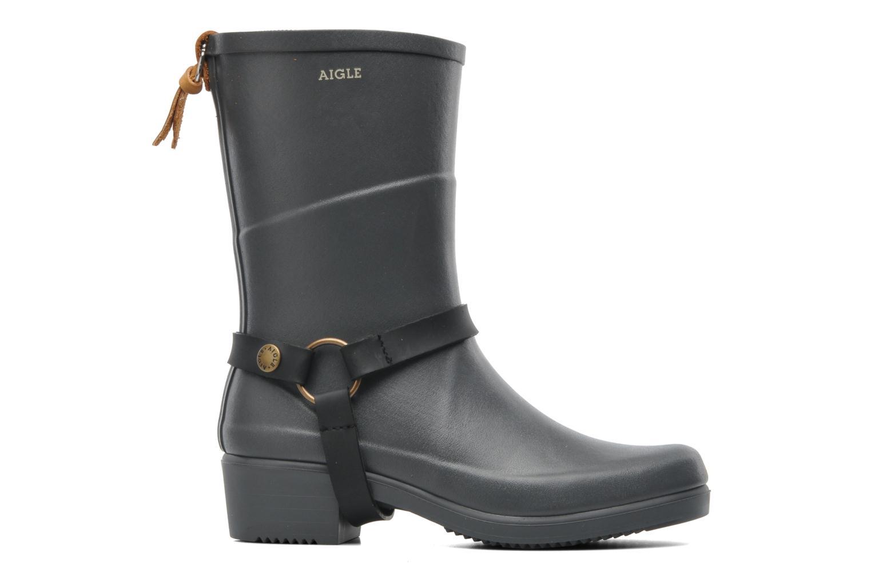 Bottines et boots Aigle Miss Julie Gris vue derrière