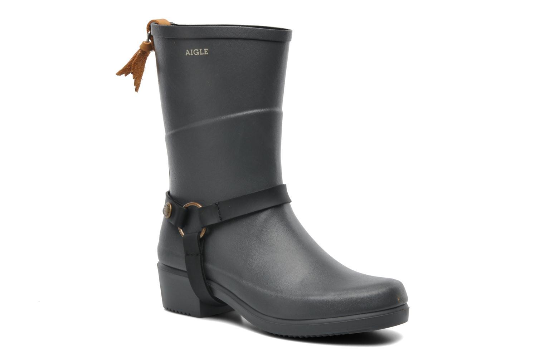 Bottines et boots Aigle Miss Julie Gris vue détail/paire