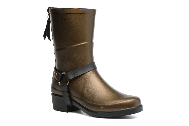 Grandes descuentos últimos zapatos Aigle Miss Julie (Oro y bronce) - Botines  Descuento