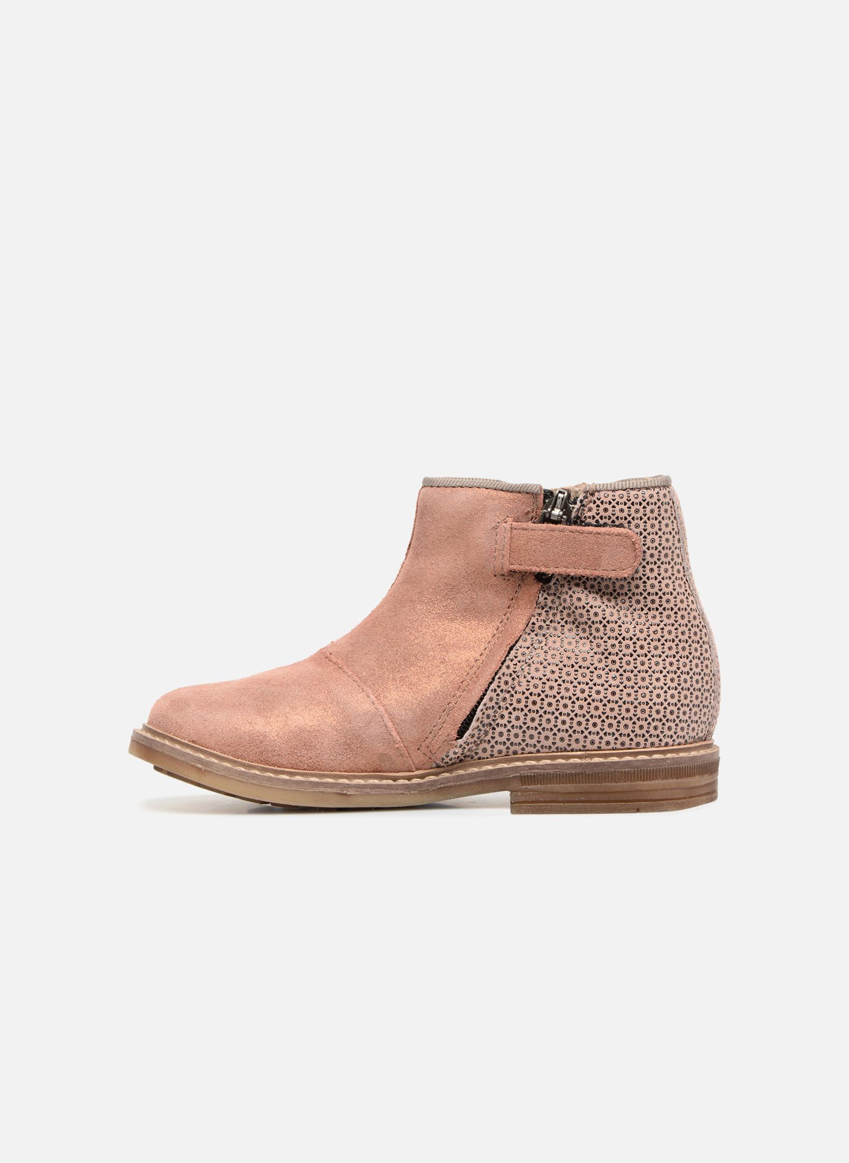 Stiefeletten & Boots Pom d Api RETRO BACK rosa ansicht von vorne