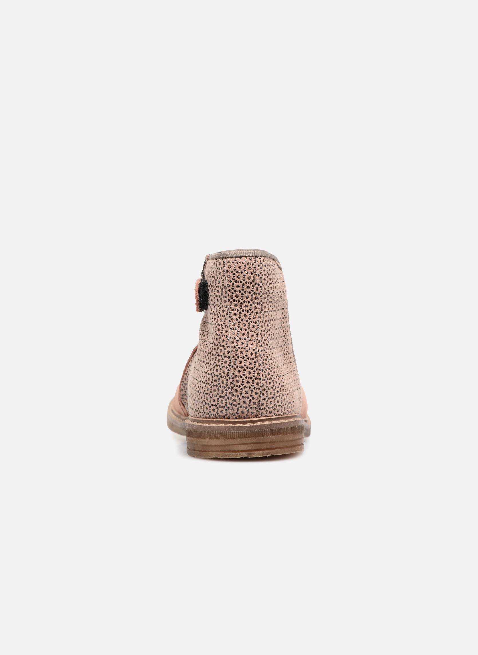 Stiefeletten & Boots Pom d Api RETRO BACK rosa ansicht von rechts