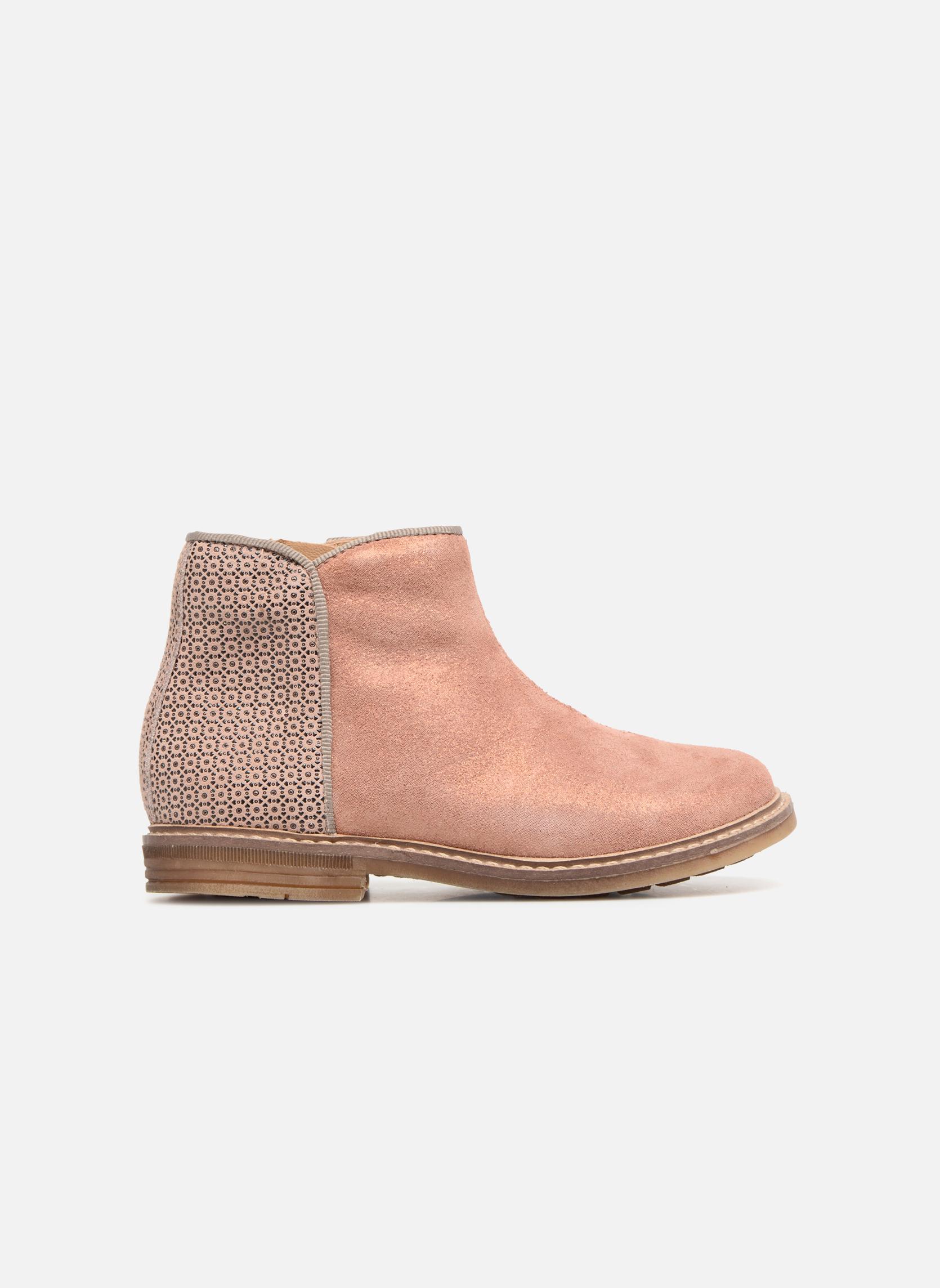 Boots en enkellaarsjes Pom d Api RETRO BACK Roze achterkant