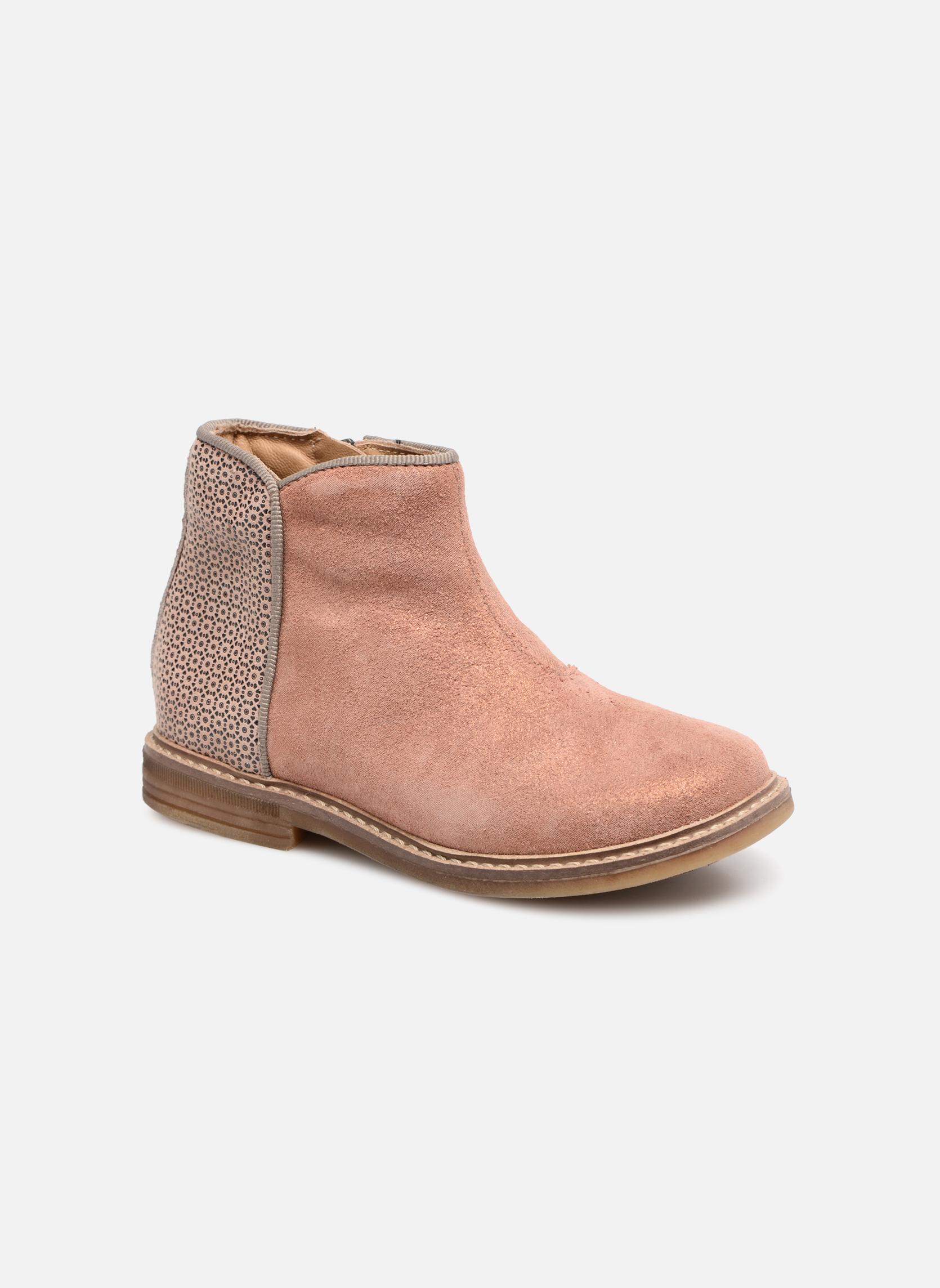 Bottines et boots Pom d Api RETRO BACK Rose vue détail/paire