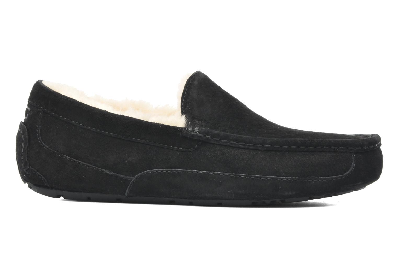 Chaussons UGG Ascot Noir vue derrière