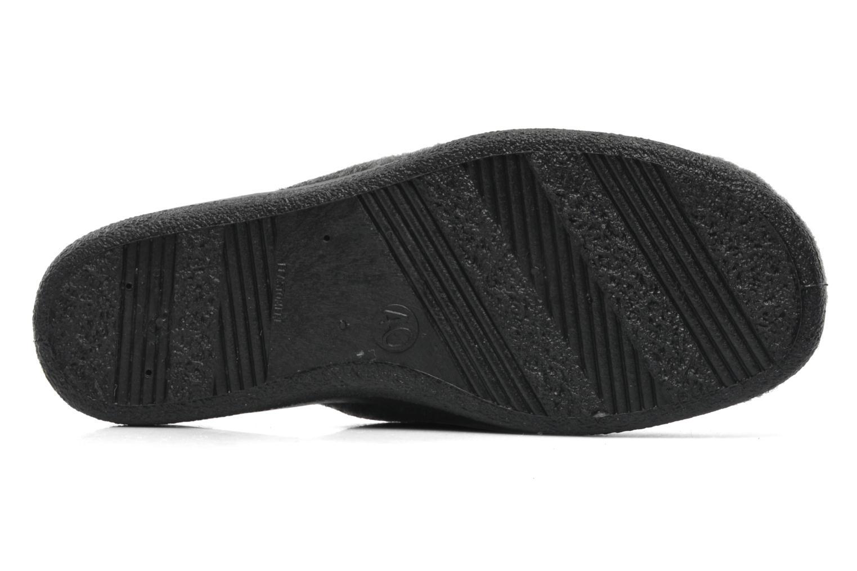 Pantofole Rondinaud Gabillou Grigio immagine dall'alto