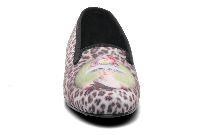 Pantofole Rondinaud Clafoutis Multicolore modello indossato