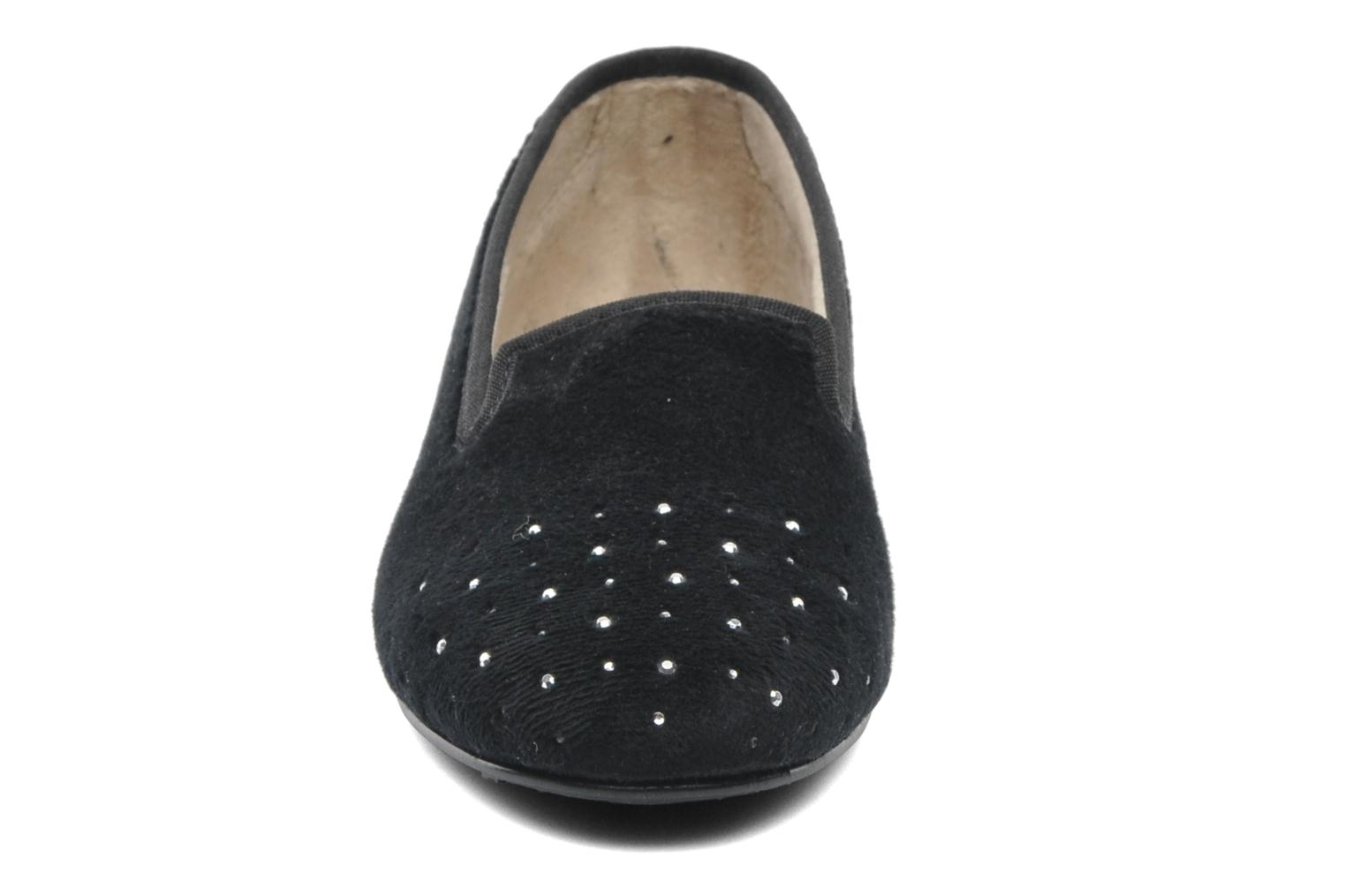 Slippers Rondinaud Bairols Black model view