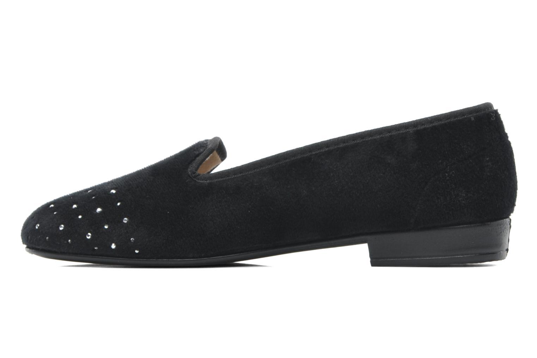 Pantofole Rondinaud Bairols Nero immagine frontale