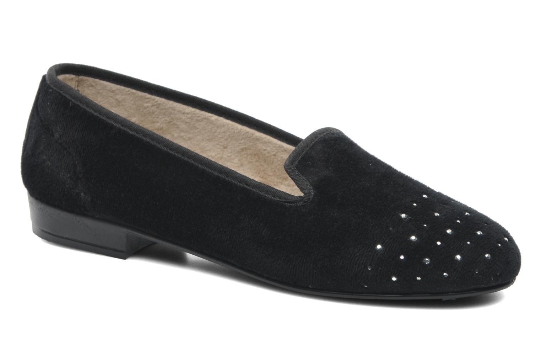 Pantoffels Rondinaud Bairols Zwart detail