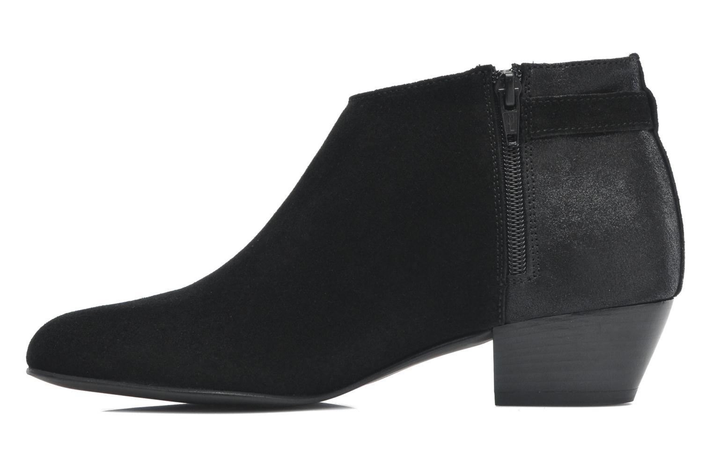 Bottines et boots Georgia Rose Lucima Noir vue face