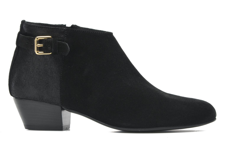 Bottines et boots Georgia Rose Lucima Noir vue derrière
