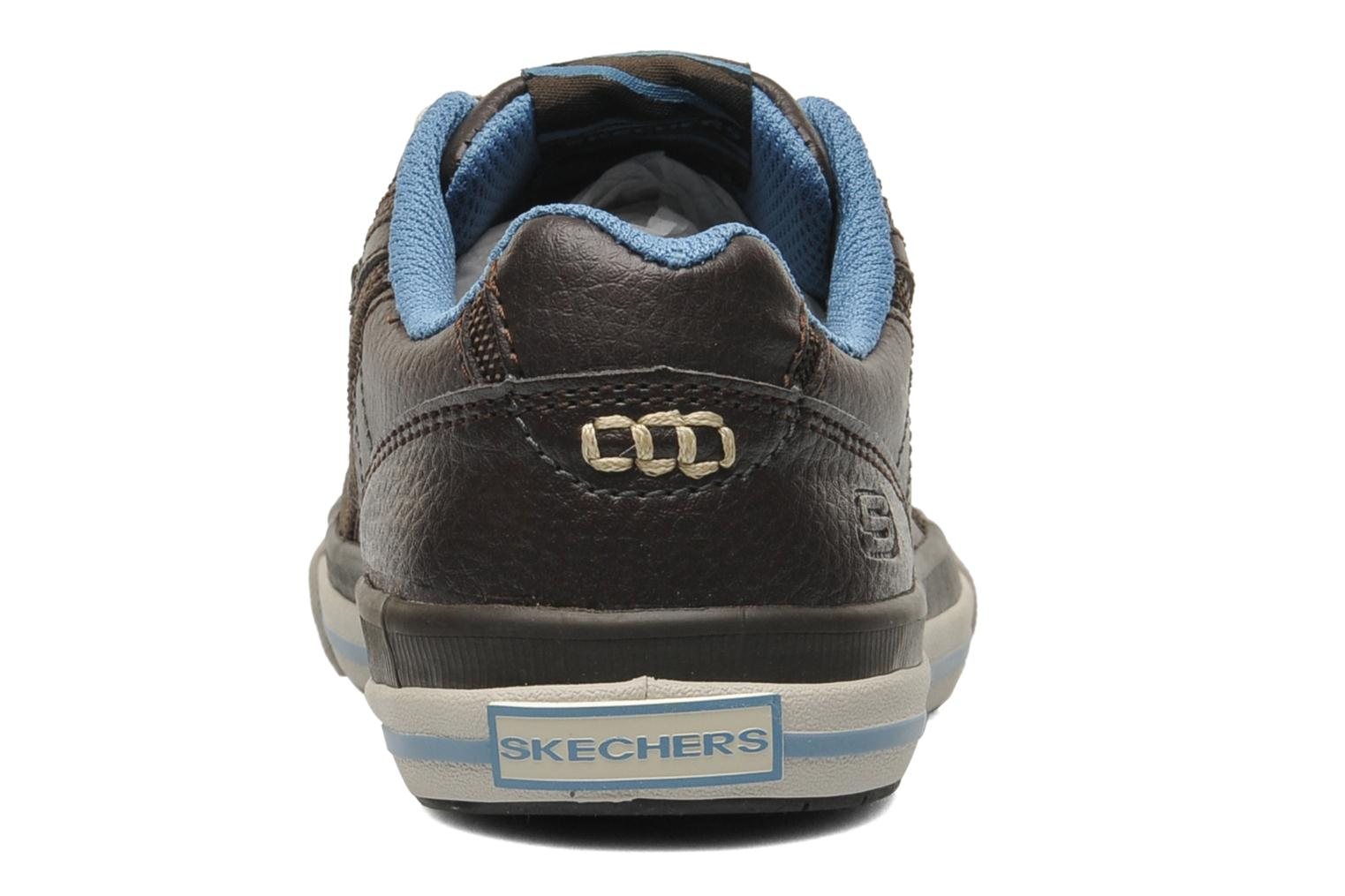Trainers Skechers Diamondback Brown view from the right