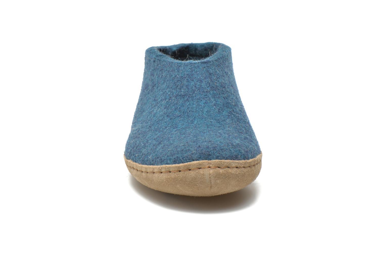 Hjemmesko Glerups Porter W Blå se skoene på