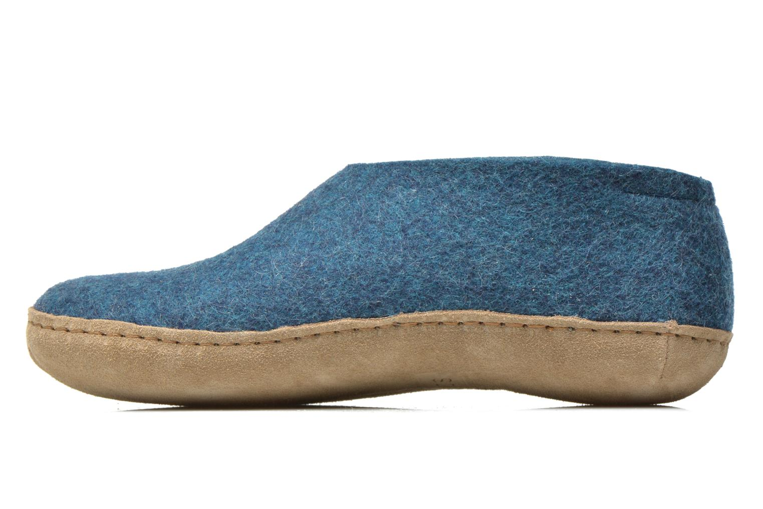 Slippers Glerups Porter W Blue front view