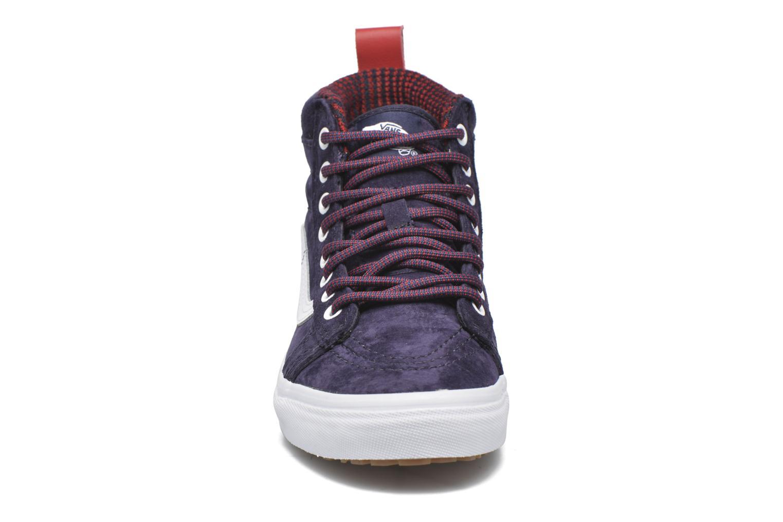 Sneaker Vans SK8-Hi MTE W blau schuhe getragen