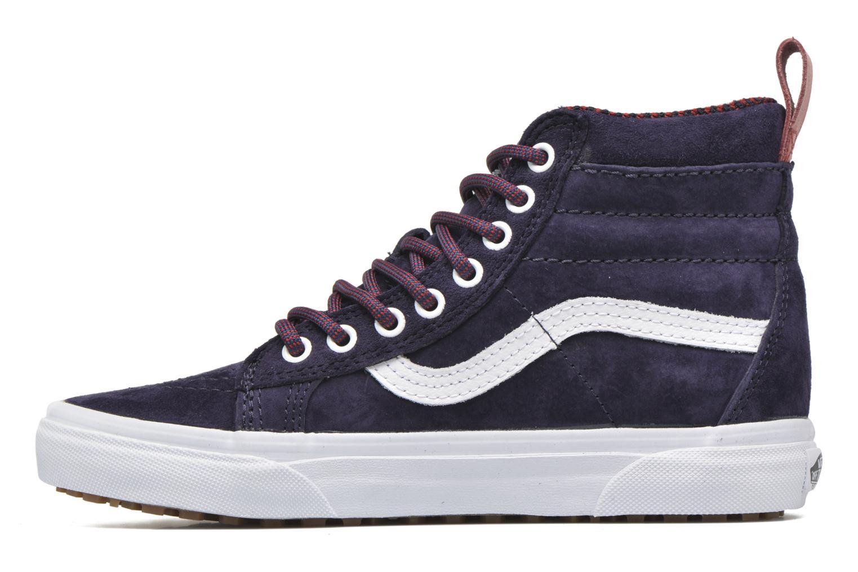 Sneaker Vans SK8-Hi MTE W blau ansicht von vorne