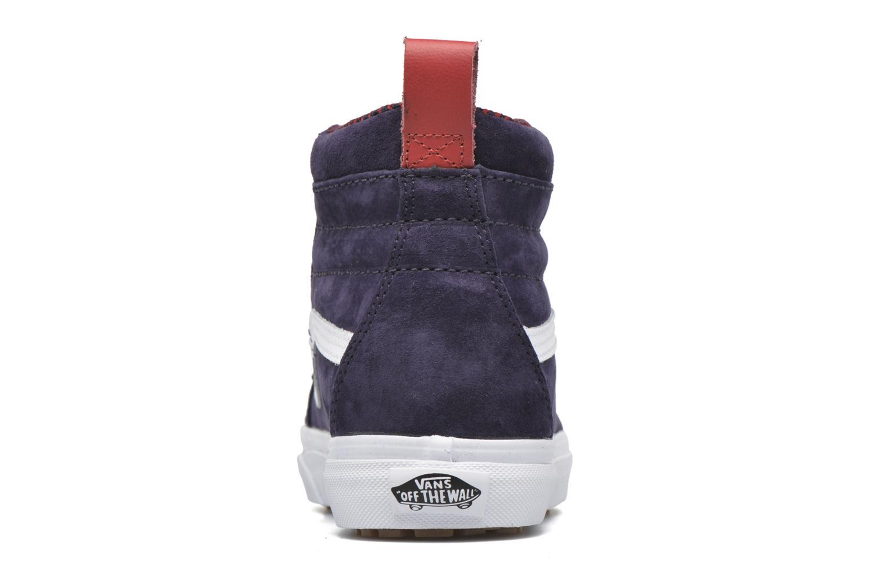 Baskets Vans SK8-Hi MTE W Bleu vue droite