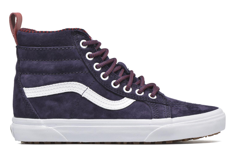 Sneaker Vans SK8-Hi MTE W blau ansicht von hinten