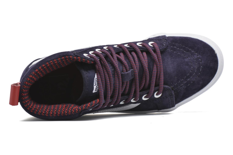 Sneaker Vans SK8-Hi MTE W blau ansicht von links