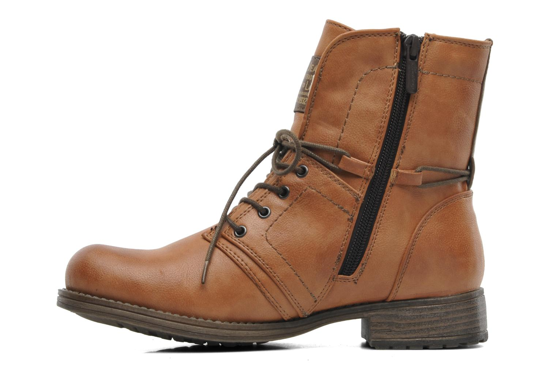 Bottines et boots Mustang shoes Bigz Marron vue face