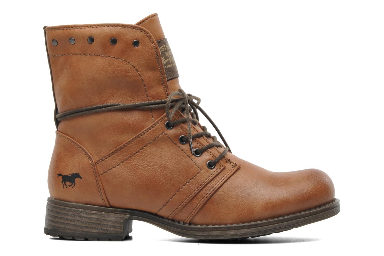 Bottines et boots Mustang shoes Bigz Marron vue derrière
