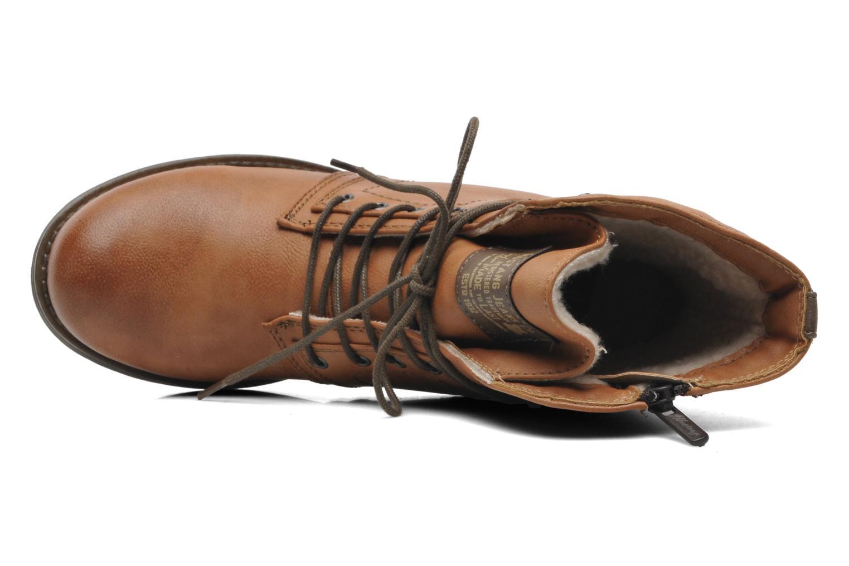 Bottines et boots Mustang shoes Bigz Marron vue gauche