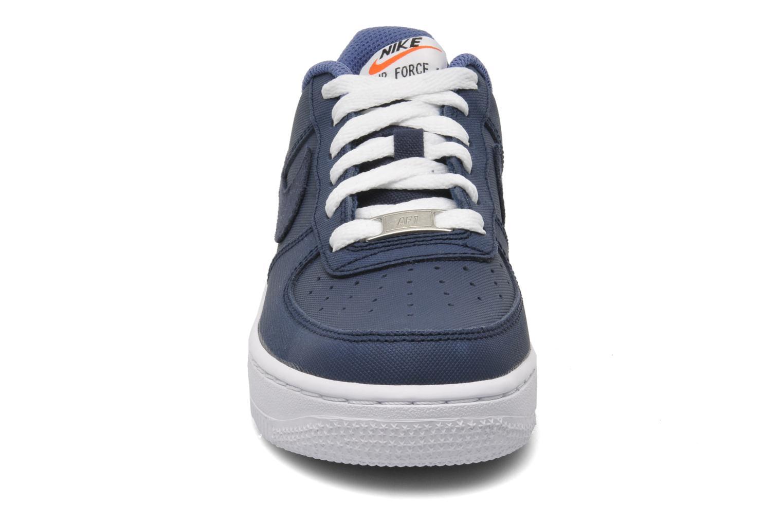 Sneaker Nike Air Force 1 (Gs) blau schuhe getragen