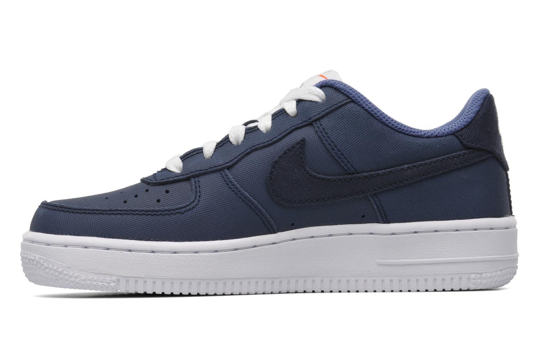 Sneaker Nike Air Force 1 (Gs) blau ansicht von vorne