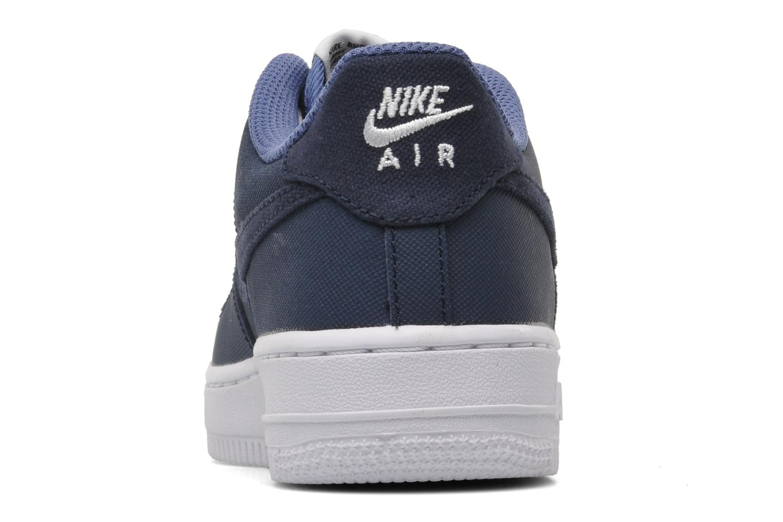 Sneaker Nike Air Force 1 (Gs) blau ansicht von rechts