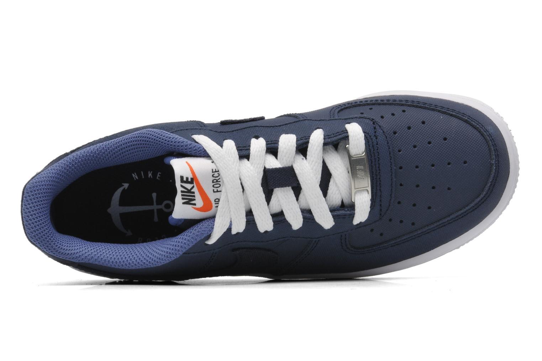Sneaker Nike Air Force 1 (Gs) blau ansicht von links