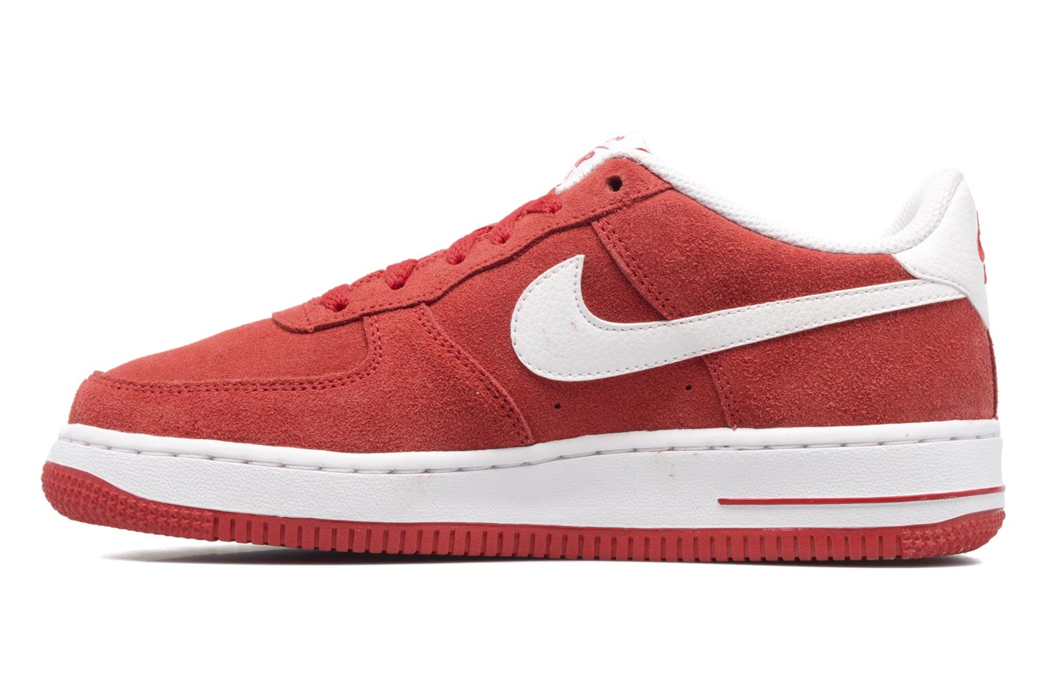 Baskets Nike Air Force 1 (Gs) Rouge vue face