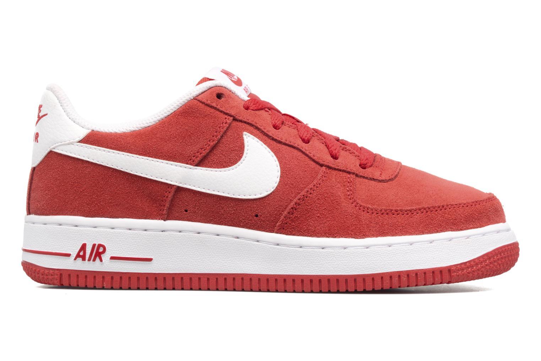 Baskets Nike Air Force 1 (Gs) Rouge vue derrière
