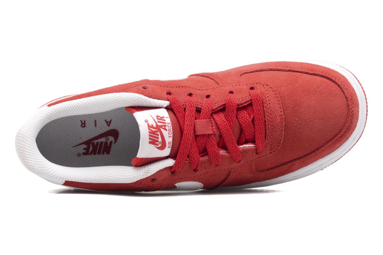 Baskets Nike Air Force 1 (Gs) Rouge vue gauche