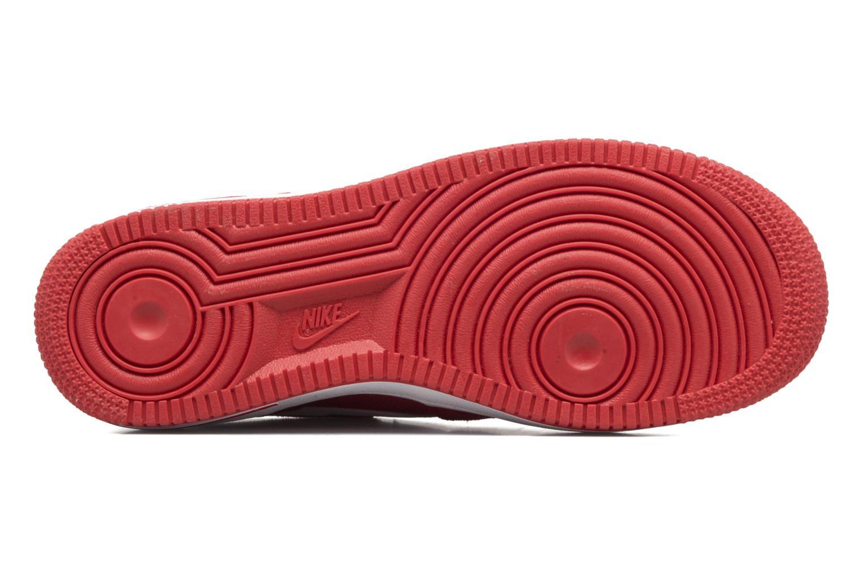 Baskets Nike Air Force 1 (Gs) Rouge vue haut