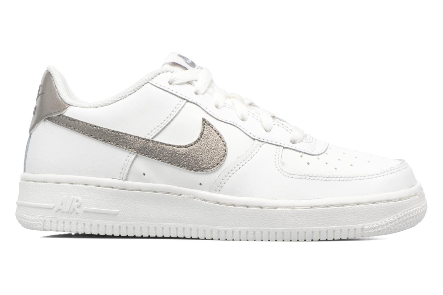 White White-White Nike Air Force 1 (Gs) (Blanc)