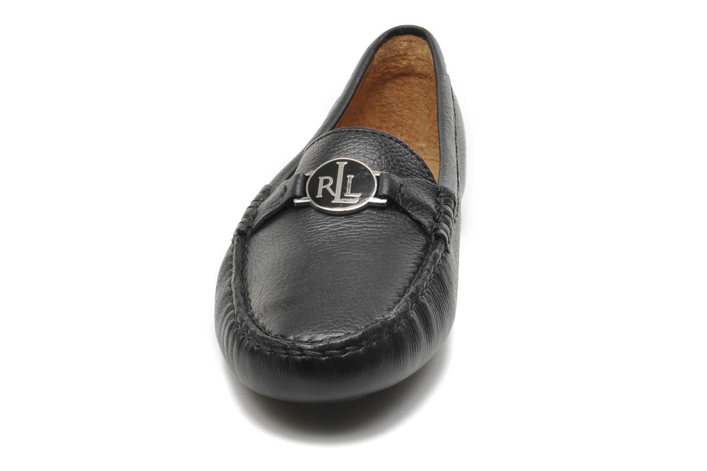 Mocassins Lauren by Ralph Lauren Carley New Noir vue portées chaussures