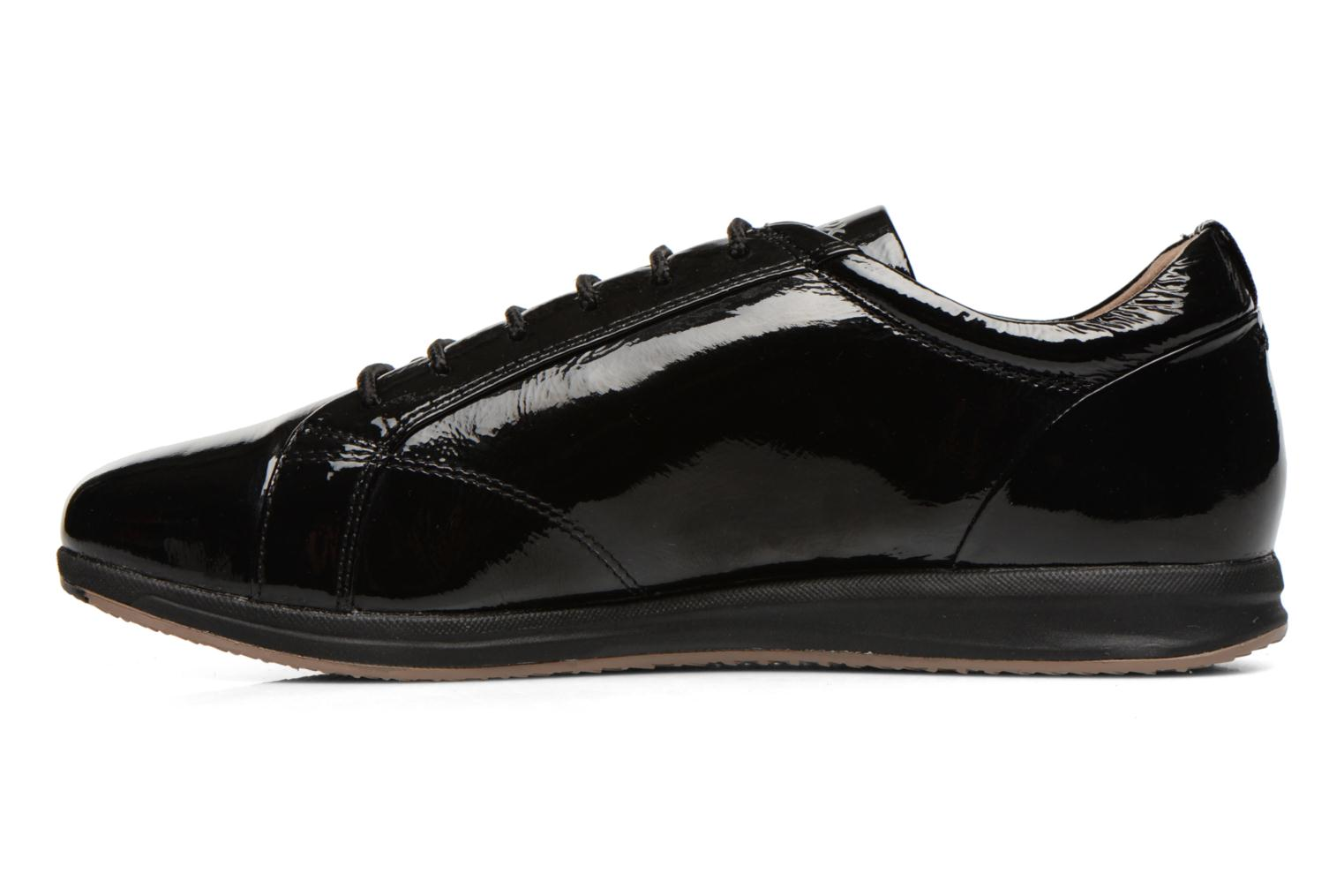 Trainers Geox D AVERY B D44H5B Black front view