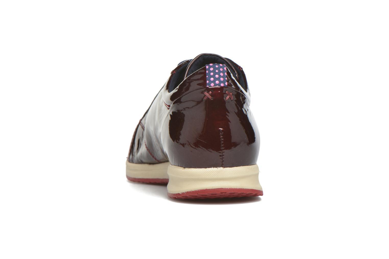Baskets Geox D AVERY B D44H5B Bordeaux vue droite