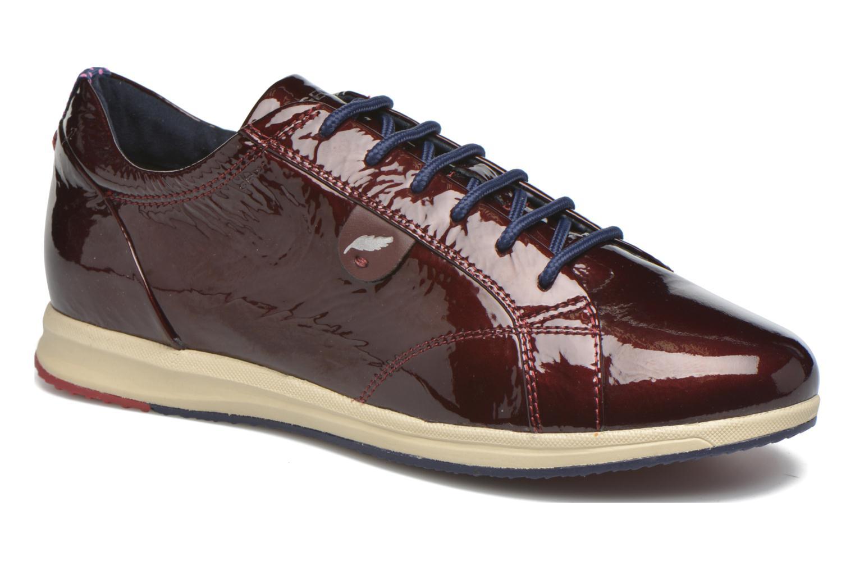 Sneaker Geox D AVERY B D44H5B weinrot detaillierte ansicht/modell