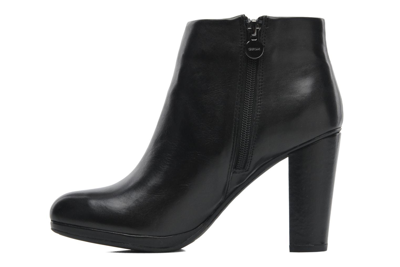 Stiefeletten & Boots Geox D KALI B D44L1B schwarz ansicht von vorne
