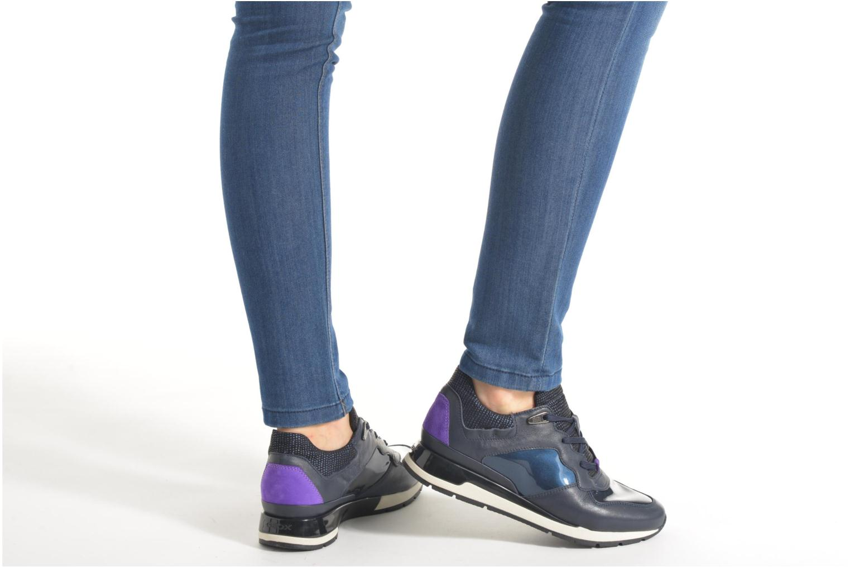 Sneakers Geox D SHAHIRA A D44N1A Azzurro immagine dal basso