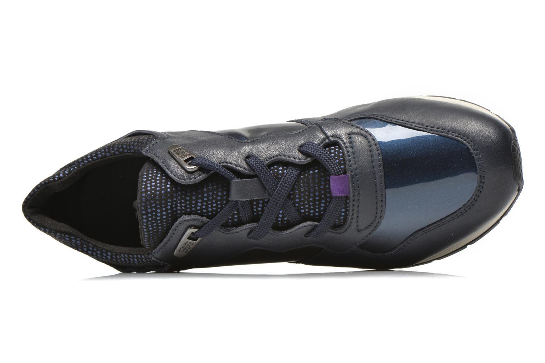 Sneakers Geox D SHAHIRA A D44N1A Azzurro immagine sinistra