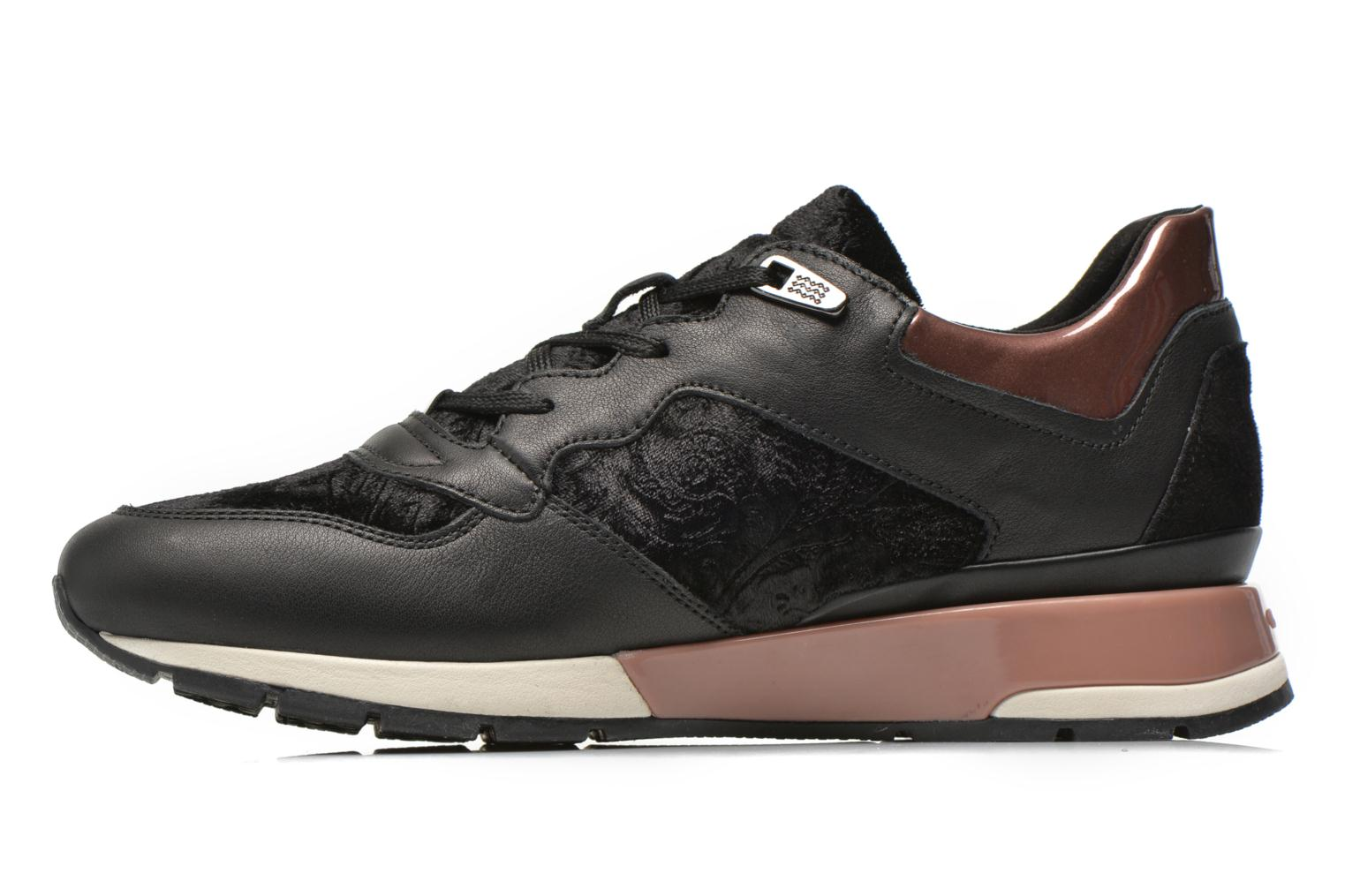 Trainers Geox D SHAHIRA A D44N1A Black front view