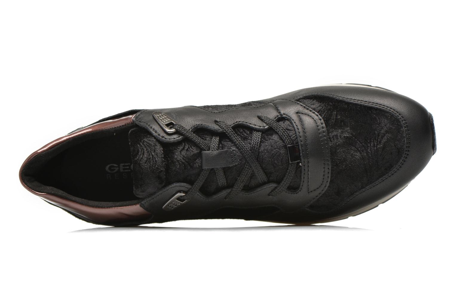 Sneakers Geox D SHAHIRA A D44N1A Sort se fra venstre