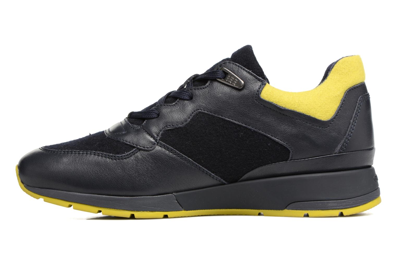 Sneaker Geox D SHAHIRA A D44N1A blau ansicht von vorne
