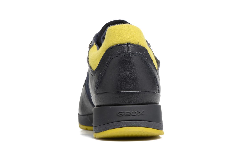 Sneakers Geox D SHAHIRA A D44N1A Azzurro immagine destra